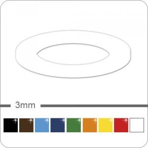 reflektierende Zierstreifen 3mm