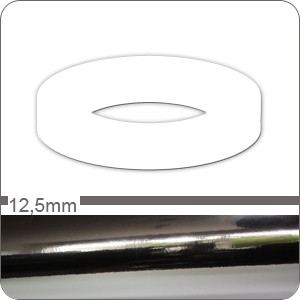 Chrom Zierstreifen 12,5mm