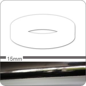 Chrom Zierstreifen 15mm