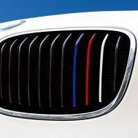 Nierenaufkleber - REFLEKTIEREND - Blau/Rot/Weiß