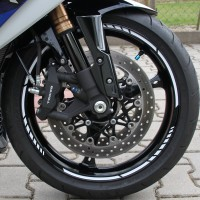 Felgenrandaufkleber MotoGP Motorrad