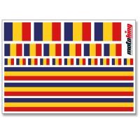 Flaggenaufkleber - Deutschland