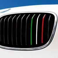 Nierenaufkleber - REFLEKTIEREND - Italien - Grün/Weiß/Rot