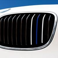 Nierenaufkleber - REFLEKTIEREND - Weiß/Blau/Weiß